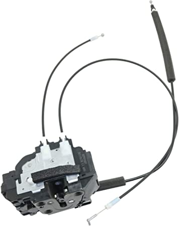 APDTY 048412 Door Latch With Lock Unlock Actuator Motor /& Cables Fits Front Right On 2004-2014 Nissan Titan Crew Cab