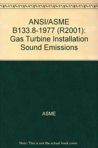 Price comparison product image ANSI / ASME B133.8-1977 (R2001): Gas Turbine Installation Sound Emissions