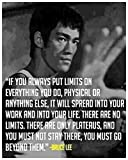 Bruce Lee (Quotes) Get Motivated's Poster 12 x 18 ""