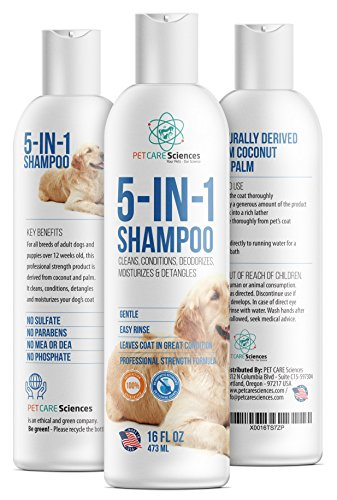 PET CARE Sciences 5 in 1 Puppy Shampoo & Conditioner