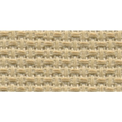DMC GD1836-0700 Classic Reserve Gold Label Aida Fabric Box, Beige, 18 Count