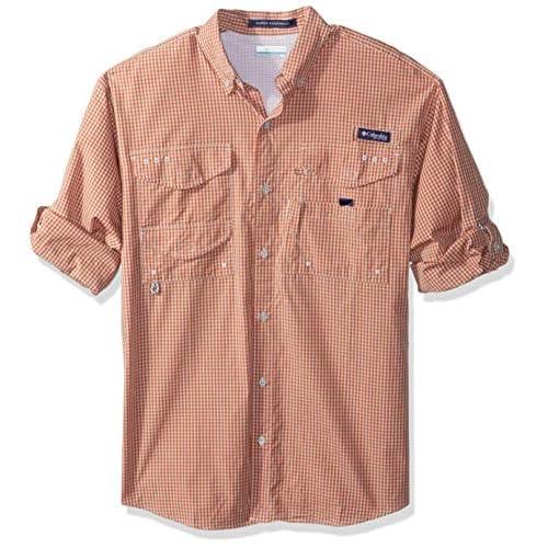 Small Columbia Mens Super Bonehead Classic Short Sleeve Shirt Moxie Mini Check