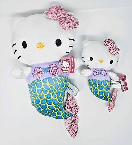 Hello Kitty Plush Mermaid Matching Mother Daughter Dynamic Duo! Matching Mother Daughter Hello Kitty Mermaid Plush Figure