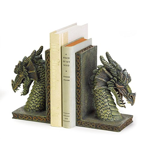 Globe Expandable Wallet (New Green Fierce Medieval Dragon Celtic Accents Pentagram Pagan Heavy Bookends,galaxy eyes tachyon dragon)