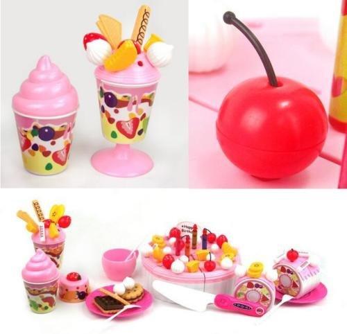 [Kids Role Play Toys Kitchen Icecream And Tea Fruit Cutting Set Birthday Cakeft] (Titanic Costumes Ideas)