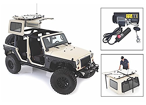 PROMAXX JEEP WRANGLER HARD TOP HOIST- 1000LB WINCH W/ AC PLUG IN