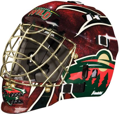 fan products of Franklin Sports NHL League Logo Minnesota Wild Mini Goalie Mask
