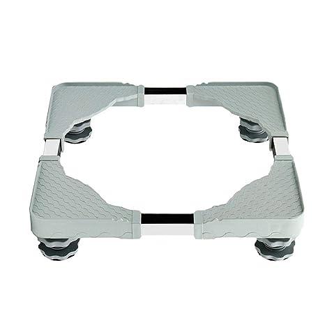 Base móvil multifuncional ajustable para el soporte de la nevera, la lavadora, la secadora