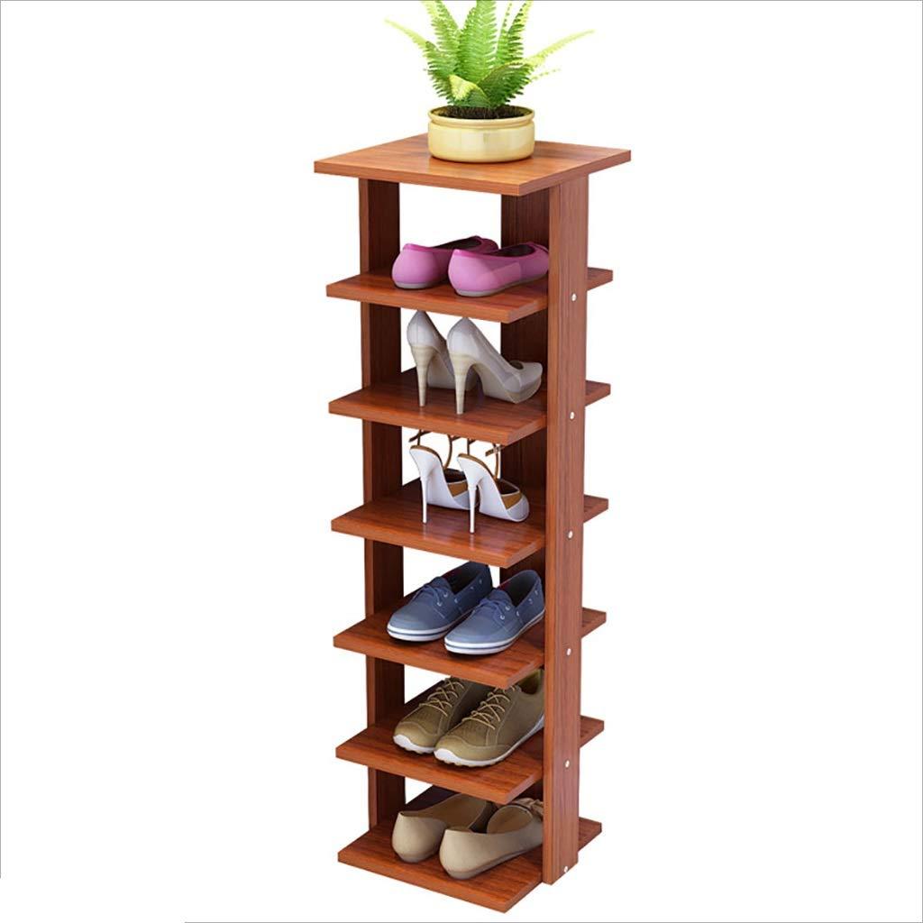 Schuhe rackDY Dongy Holz Schuhregal 7 Tiers Tiers Tiers Bodenständer Lagerregal Dreidimensional, für Männer Damen und Kinder Schuhe Schlafzimmer Foyer Wohnzimmer Büro, 29  29  105 cm (Farbe   D) 2fa15e