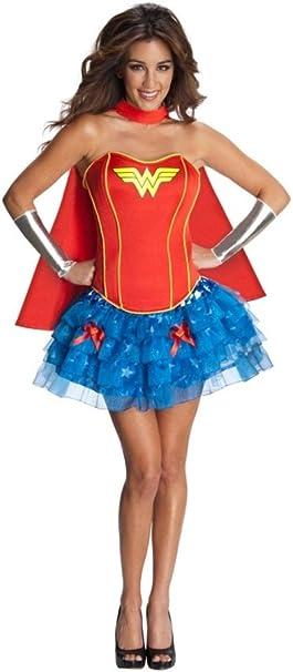 aimerfeel mujeres superhéroes traje de superwoman corsé del tutú ...