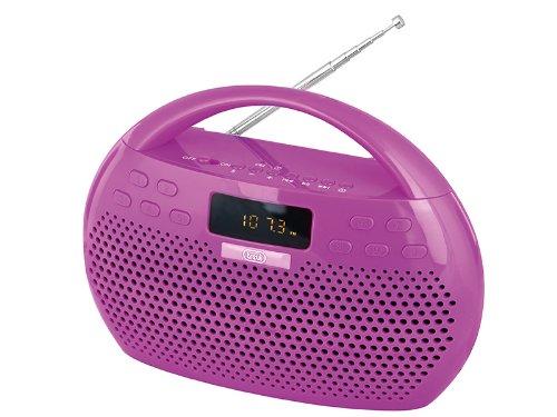 15 opinioni per Trevi KB 308 BT radio portatile digitale Boombox Bluetooth Micro SD USB MP3