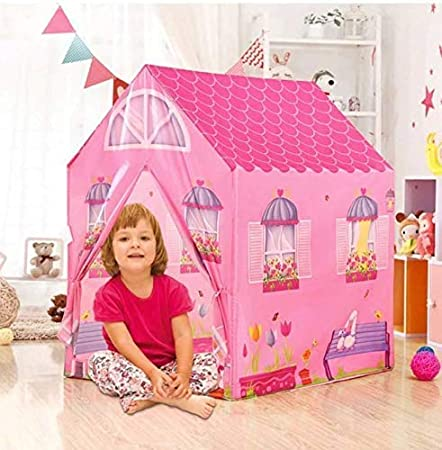 FlexZone Jumbo Size Extremely Light Weight Kids Play Tent House for 10 Year Old Girls and Boys (jungal tent)