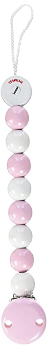 15 opinioni per Heimess 732340, Catenella per ciuccio, colore: Rosa/Bianco