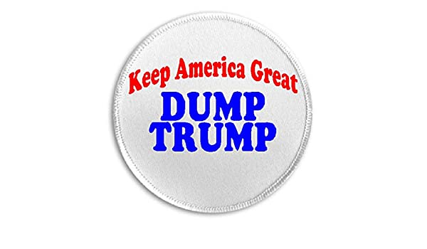 Trumping Demnuts Trump GOP Democrats Coffee Iron on Patch