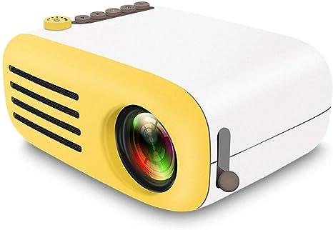 C-ET Full HD, Mini proyector Proyector portátil de video en 3D ...