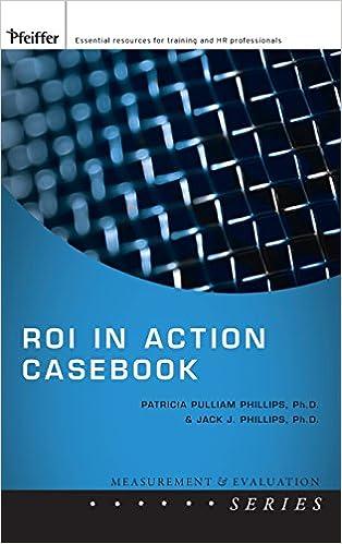 Roi in Action Casebook Measurement and Evaluation Series: Amazon.es: Patricia Pulliam Phillips, Jack J. Phillips: Libros en idiomas extranjeros