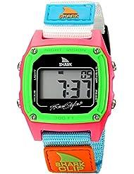 Freestyle womens FS84861 Shark Clip Classic Retro Digital Watch Watch with Nylon Band