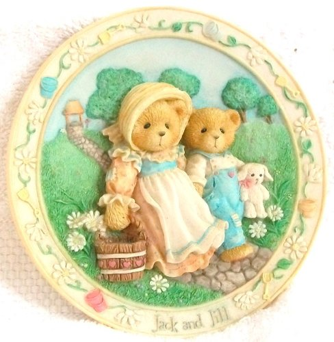 Cherished Teddies Jack And Jill Collector Plate ()