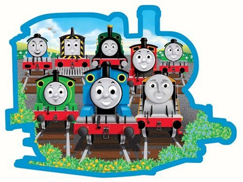 Engines Thomas Floor Puzzle - Thomas & Friends: Sodor Friends - 24 Piece Shaped Floor Puzzle