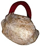 Calvin Klein Womens Ear Muffs with Built in Speakers (Berry)