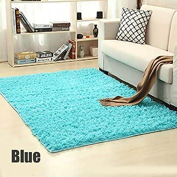 GUSJ Shaggy Alfombras Salon Grandes Home Alfombra Diseño Alfombra ...