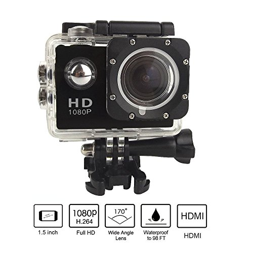 Brotherhood HD Sports Helmet Action Waterproof Camera As Go Professional Underwater Camcorder Kit - DSP:NT96650 + 1.5