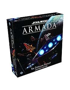 Fantasy Flight Games SWM25 Star Wars Armada: The Corellian Conflict Board Game