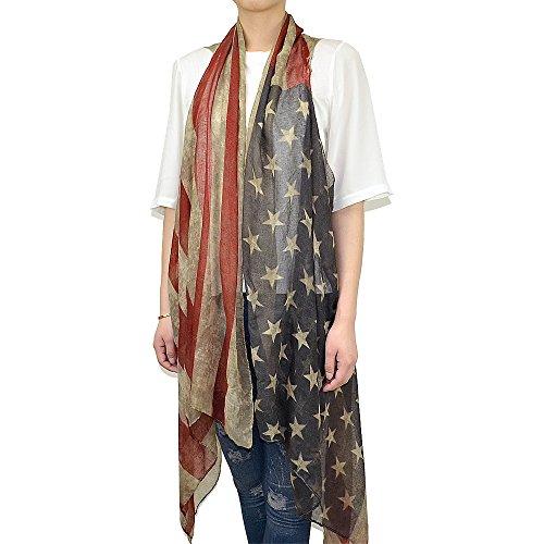 Faded American Flag Sleeveless Cardigan product image