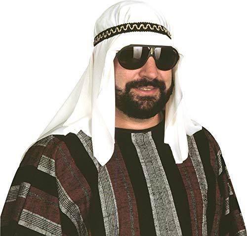 Sheik Costume Headpiece Desert Prince Arab Arabian Sultan HAT Headpiece SHIEK