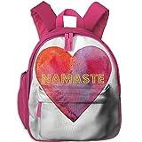 Namaste Lightweight Canvas Cute Pattern Kids School Backpack