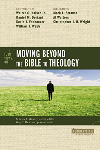 Four Views on Moving beyond the Bible to Theology (Counterpoints
