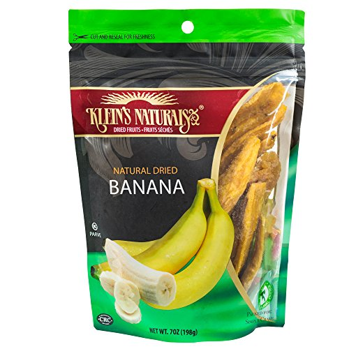 Klein's Natural Dried Bananas, Unsweetened - Better than Dri
