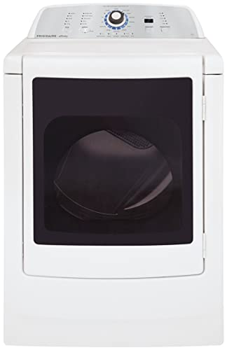Affinity 7.0 Cu. Ft. High Efficiency Front Load Gas Dryer with Glass Door Classic White
