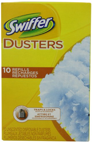 Proctor & Gamble Swiffer Dusters Disposable Cleaning Dusters Refills Unscented 10 Count (Pack of 3) by Swiffer