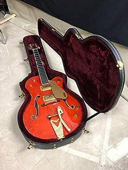Gretsch Guitars G6120T Nashville with Bigsby Hollowbody Electric Guitar Orange