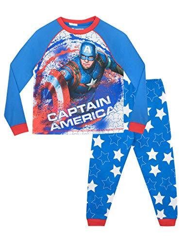 Marvel Boys' Captain America Pajamas Size 12 Multicolored