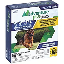 Adventure Plus (4-dose) X-LARGE DOG (55+ lbs)