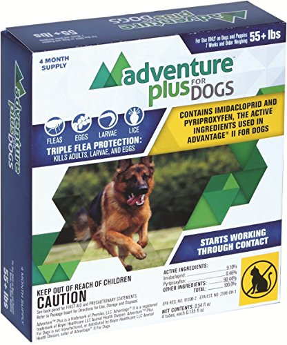 adventure-plus-4-pack-x-large-dog-55-lbs-pet-protection-pests-bites-infestation-larvae-lice-mosquito