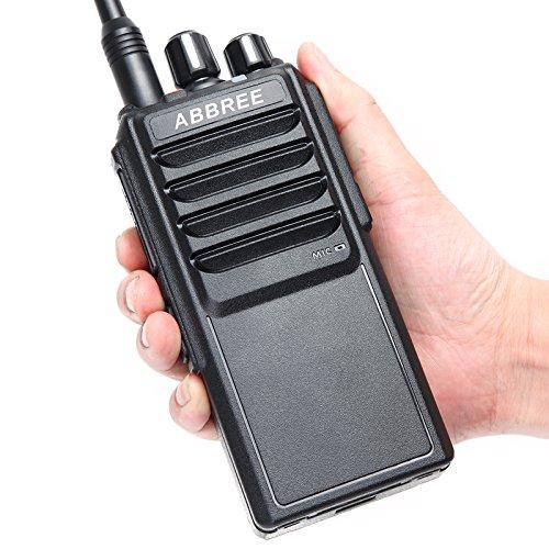 ABBREE AR-25W UHF 400-480MHz Output Power 25W 10W 5W 10Km Range Walkie Talkie With 37CM High Gain Antenna and 4000mAh Battery