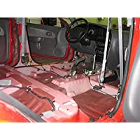 HushMat 665101 Sound and Thermal Insulation Kit (2002-2007 Jeep Liberty - Floor)