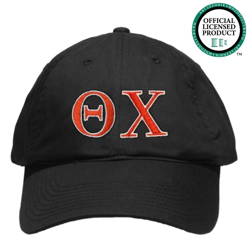 Theta Chi (OX) Embroidered Nike Golf Hat, Various Colors