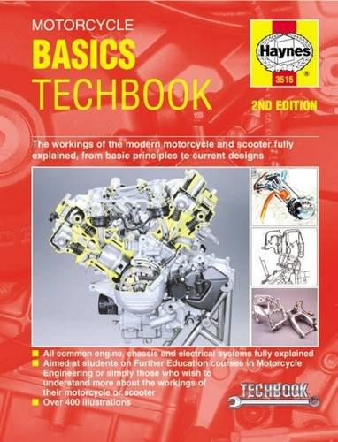 Motorcycle Basics Techbook Editors Manuals product image