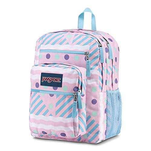Cream Student Geo Red Viking JanSport Backpack Ice Big TfqRY8xZ