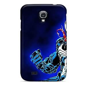 Hot Fashion JSj442eAoY Design Case Cover For Galaxy S4 Protective Case (venom)