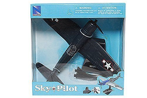 (New Ray New 1:48 Sky Pilot Collection - Sky Pilot Planes Scout 4 Model Toys )