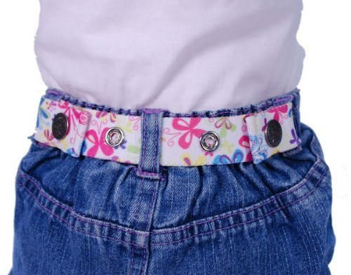 Dapper Snapper Baby & Toddler Adjustable Belt (Butterflies)
