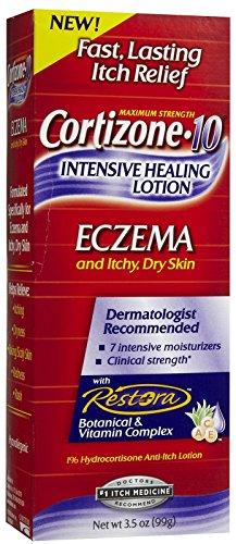 Cortizone-10 Intensive Healing Lotion Eczema 3.50 oz