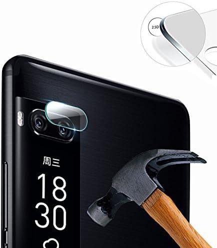Lusee 2 x Pack Protector de Lente Cámara para Meizu Pro 7 5.2 ...