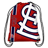 FOCO St. Louis Cardinals Big Logo Drawstring Backpack