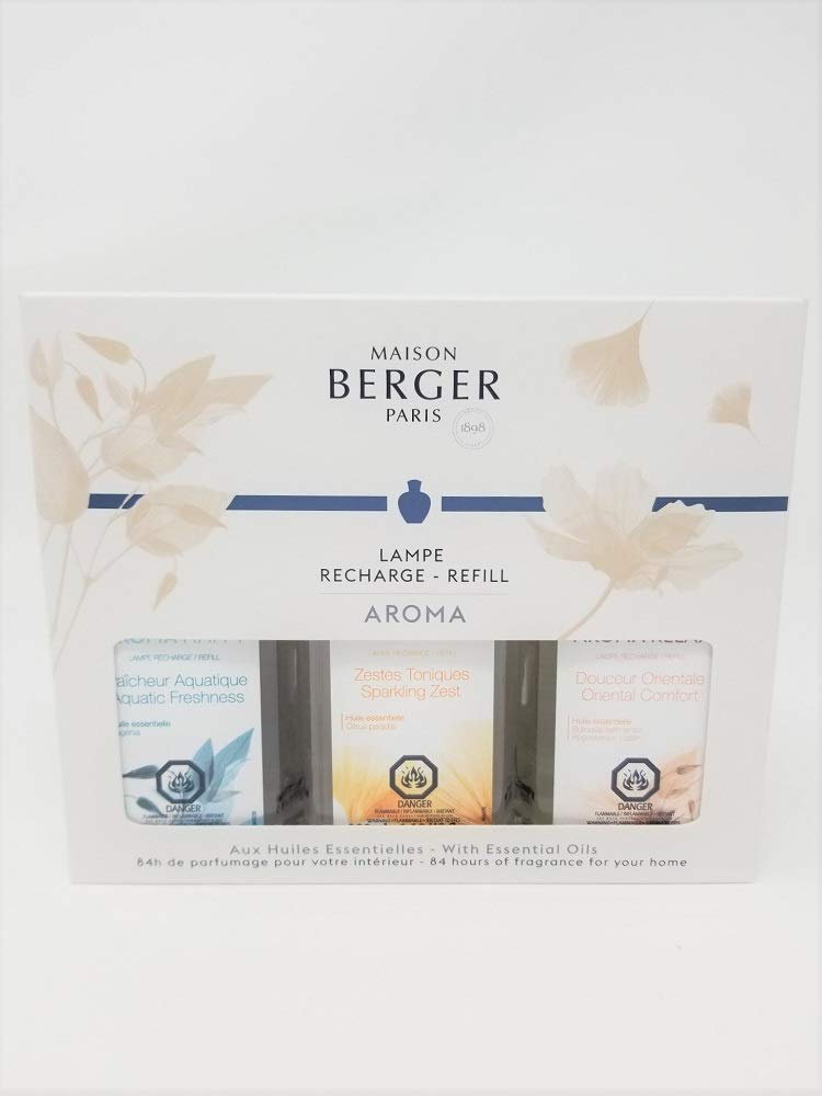 Lampe Berger/Maison Berger Aroma Collection Trio Pack